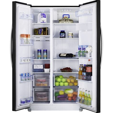 Furniture For Kitchen Cabinets by Hisense Rs723n4wb1 Frost Free Side By Side American Fridge