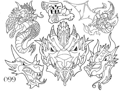 Dragon Tattoo 171 Black And White 171 Flash Tatto Sets 171 Tattoo Black And White Flash Tattoos