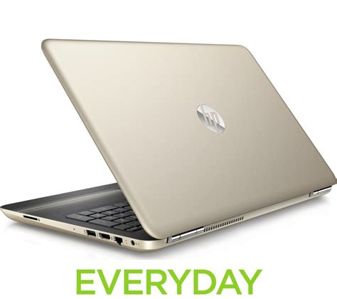 hp laptop with hp pavilion 15 aw084sa 15 6 quot laptop modern gold deals