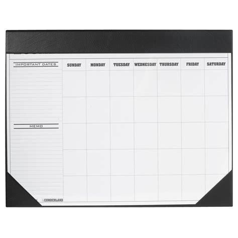 Mat Calendar by Cumberland Business Desk Mat