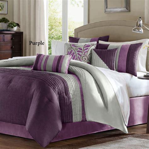 7 pc comforter set salem 7 pc pintuck comforter bed set