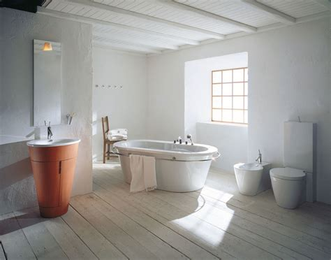 bathtub decoration philipe starck rustic modern bathroom decor
