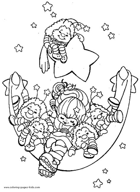 rainbow bridge coloring page rainbow brite color page cartoon color pages printable