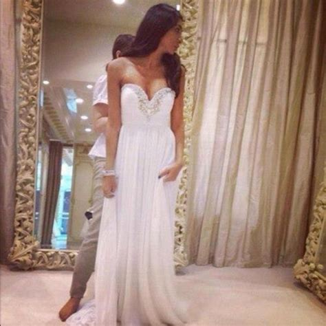 Drss 962 Flowy Roses Maxidress dress white gown prom dress wedding perfection