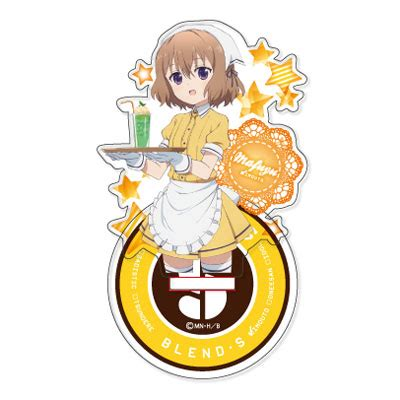 Blend S Standee amiami character hobby shop blend s acrylic stand
