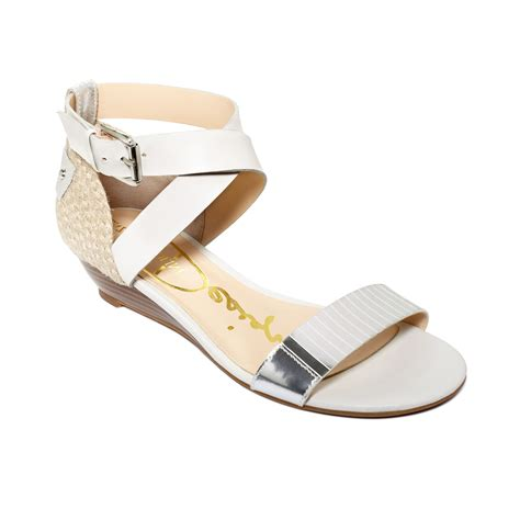 enzo angiolini sandals enzo angiolini kahny demi wedge sandals in silver black