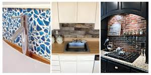 Diy Kitchen Backsplash Ideas 15 unique diy kitchen backsplash ideas to personalize your