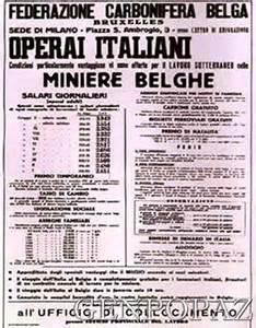 mineur italiens en belgique