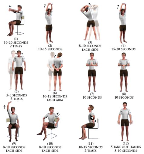 exercise at the office desk proper exercise helps with back