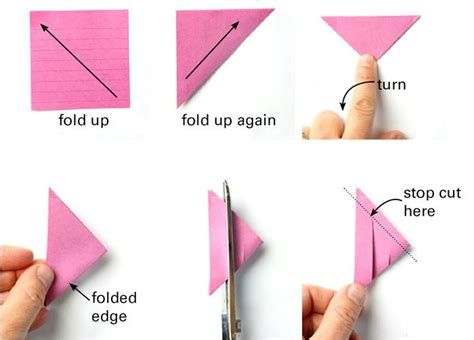 Origami Out Of Post It Notes - 3d paper from post it notes paper 3d paper
