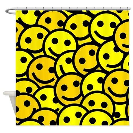 smiley face shower curtain smiley faces shower curtain by bestshowercurtains