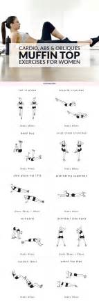 muffin top exercises cardio abs obliques workout