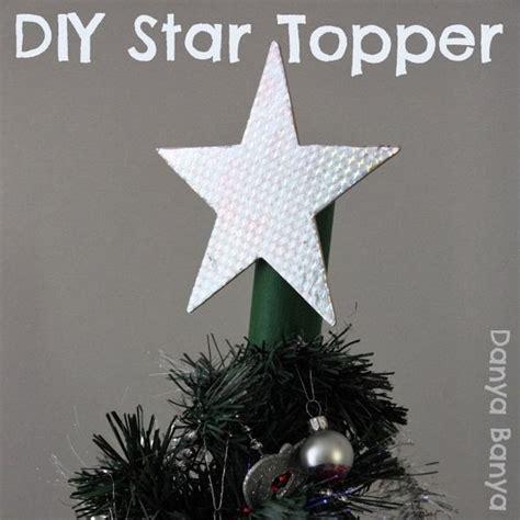diy xmas tree top star tree topper danya banya