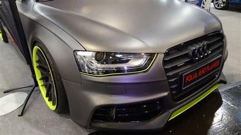 Audi A4 3 0 Tdi Tuning by Audi A4 3 0 Tdi Tuning Essen Motorshow 2014 Germany Youtube
