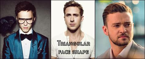 nice hairstyles for a triangular face shaped man the best beard shape for your face shape