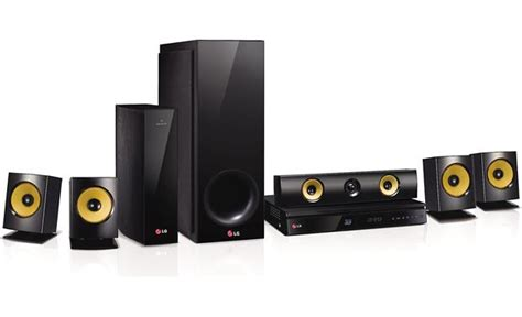 lg bh6830sw 5 1 channel home theater system with
