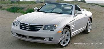 Chrysler And Mercedes Chrysler Crossfire And Srt 6 The Retuned Mercedes Sl