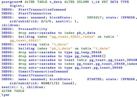 Postgresql Alter Table Add Column Postgresql Dba 2014
