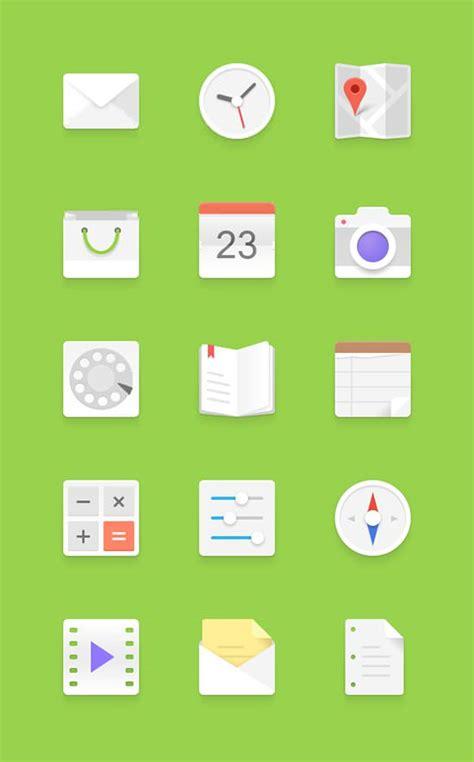 large icons for android フラットデザインで簡単モックアップ 無料uiデザインキット photoshopvip