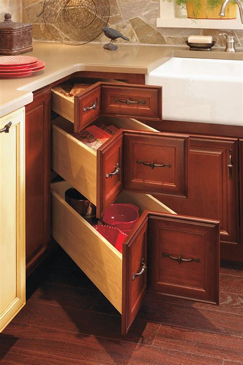 Corner Cabinet Drawers Kitchen Corner Drawer Cabinet Decora Cabinetry