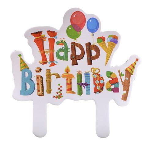 Happy Birthday Set Cake Topper happy birthday cake toppers 30 pcs set
