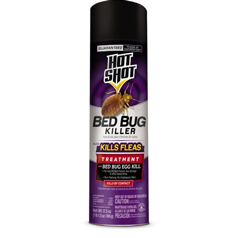 hot shot bed bug  flea killer  oz aerosol spray hg   home depot