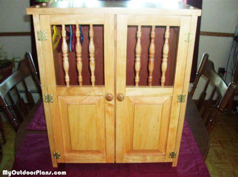 diy   doll armoire myoutdoorplans