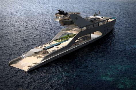 elon musk yacht 108m mega yacht uncrate