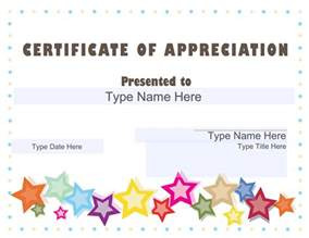 volunteer of the month certificate template certificate of appreciation templates sleprintable