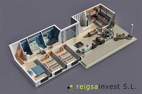 8 gimnasios en casa pisos plano 3d de casa de una sola planta planos de casas y