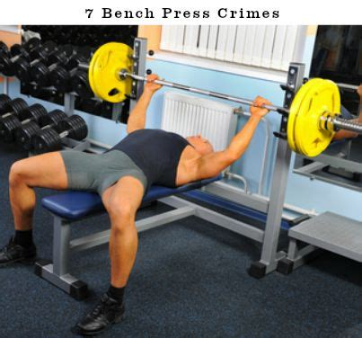 bench press replacement 7 bench press crimes that are killing your gains click