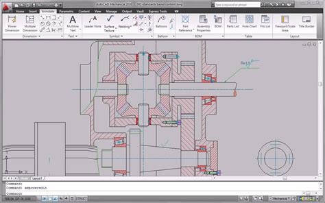 layout autocad 2010 autocad mechanical 2010 standards based design and