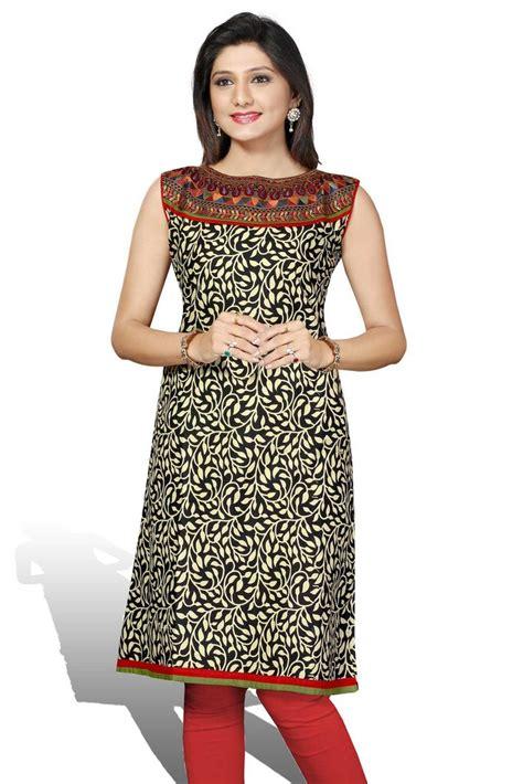 cotton printed bell sleeves long kurta salwar patterns indian long kurtis for women ethnic india design