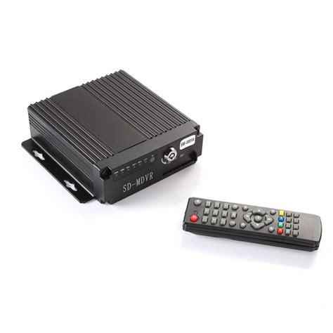 4ch sd card recording mini car dvr recorder mini 4ch car vehicle ahd mobile dvr realtime audio
