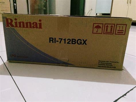 Kompor Gas 2 Tungku Rinnai Ri 712bgx Ri712bgx Best Seller jual kompor gas rinnai ri 712bgx citraberingin graha