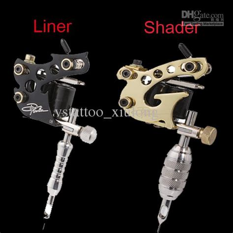 tattoo liner und shader 2 top handmade danny fowler tattoo machine gun kit shader