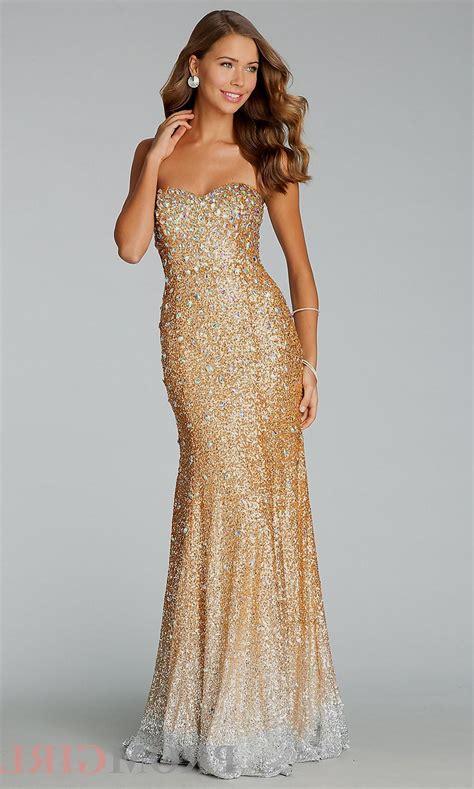 In Gold Dress gold strapless sequin dress naf dresses