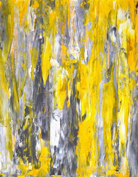painting greys nailed it grey and yellow abstract art painting painting