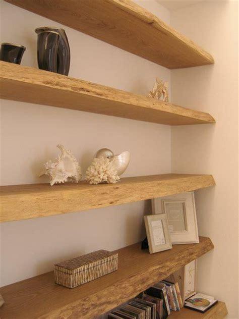 mensole in legno massello mensola a scomparsa in legno massello di design wanos