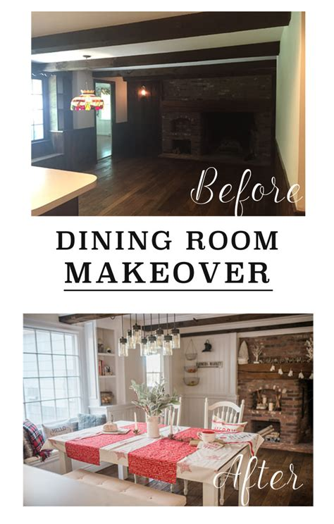 dining room makeover pictures dining room makeover before after