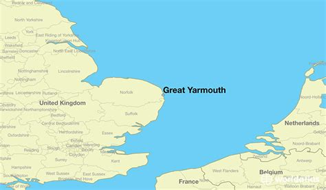 great world city map location where is great yarmouth great yarmouth