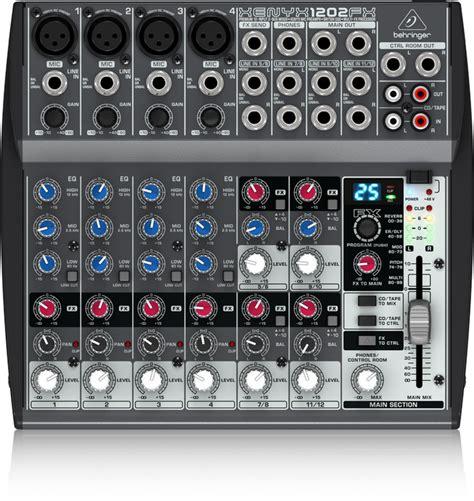 Second Mixer Behringer Xenyx 1204 Fx behringer xenyx 1202 fx 效果混音器 帝米數位音樂商店
