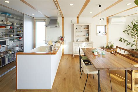 japan kitchen design style simplicity in a japanese countryside prefab home