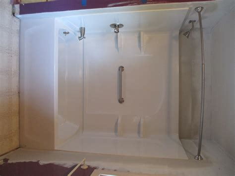 how to replace a bathtub with a shower stall nhbb one day tub replacement