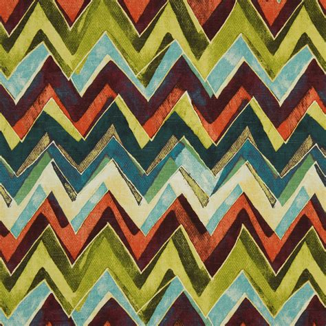 orange green curtains curtains modern orange teal chevron upholstery awesome