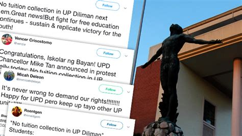 film up diliman students react to no tuition collection in up diliman