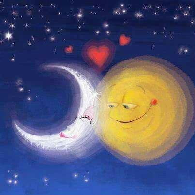 imagenes del sol y la luna vengaaaa a dormir que es mi turno im 225 genes