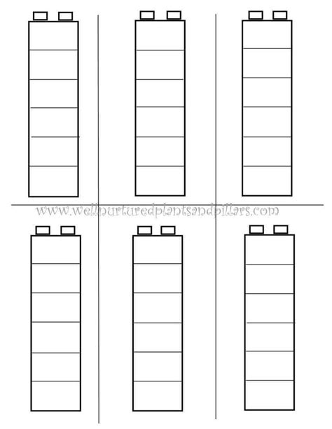 printable lego templates preschool busy bag ideas with free printable bags tes