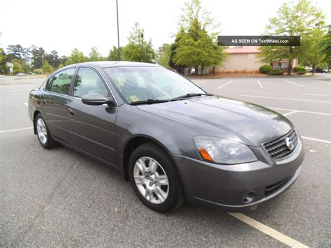 nissan coupe 2006 2006 nissan altima s sedan 4 door 2 5l special edition