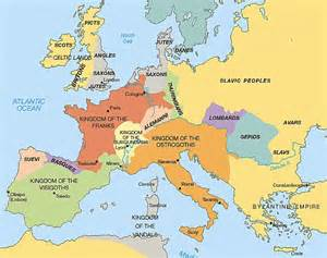 Outline Map Of Europe In Middle Ages by 문화예술 Gt 김미연 아트노트 Gt 9th Hour 로마네스크 건축 10세기 말 12 세기 10 24 13